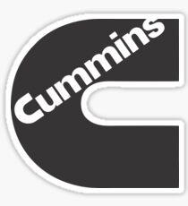 C Cummins trucks Sticker