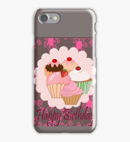 Cup Cakes (4017  Views) iPhone Case/Skin