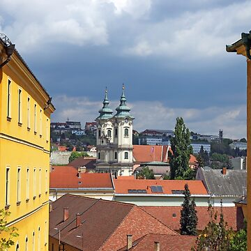 street view old town Eger  by goceris