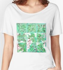 Tunstall Tile Green Women's Relaxed Fit T-Shirt