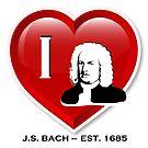 I love Johann Sebastian Bach von Bach4you