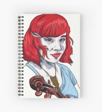 Baby Bluegrass Spiral Notebook