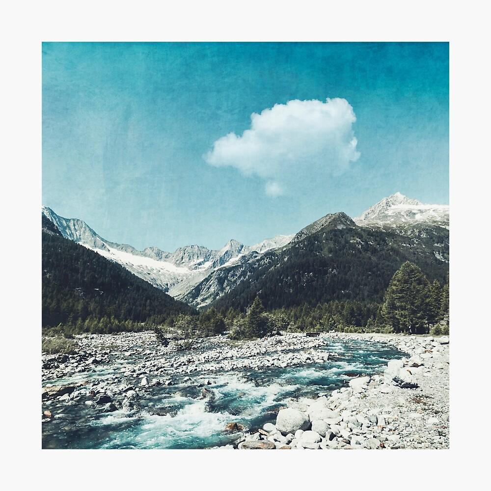 Mountain River Photographic Print