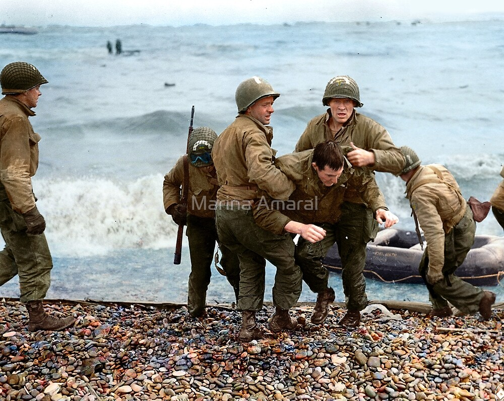 Omaha Beach landing - D Day