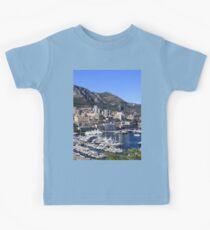 a colourful Monaco landscape Kids Clothes