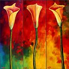Calla Lilies Glow by sesillie