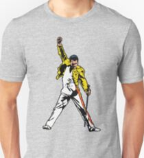 Mr Mercury Iconic Pose, Unforgettable Performance Artwork, Tshirts, Posters, Prints, Men, Women, Kids Unisex T-Shirt