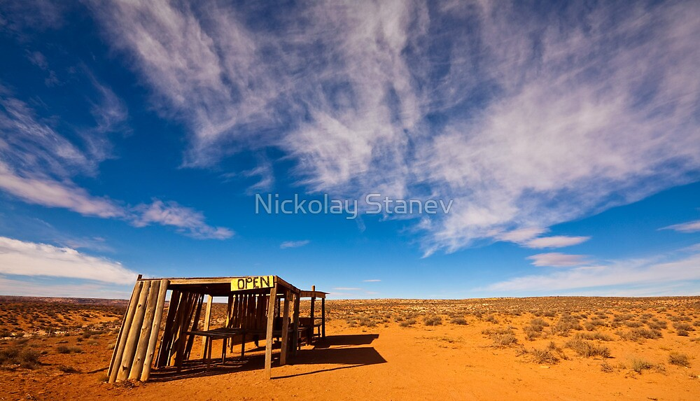 Navajo Jewelry Shop by Nickolay Stanev
