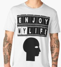 ENJOY MY LIFE Männer Premium T-Shirts