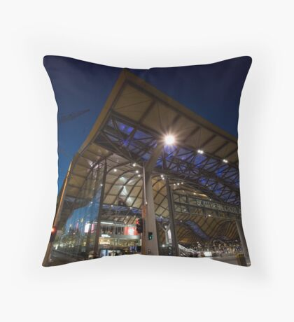 Southern Cross Station Melbourne Throw Pillow