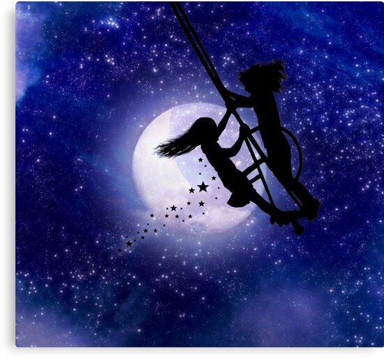 Swing By The Light Of The Moon by Elizabeth Burton