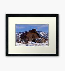 Steamboat Barn, Daytime Icon Framed Print