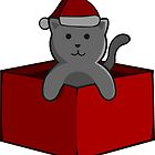 Christmas Cat by pda1986