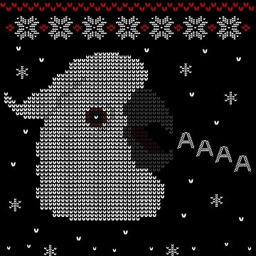 cockatoo ugly christmas sweatshirt by FandomizedRose