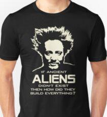 Giorgio Tsoukalos Ancient Aliens Build Everything tshirt Unisex T-Shirt