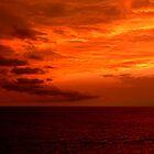 Orange Glow Sunset by GedTKirk