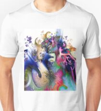 Sculpting the Abstract Unisex T-Shirt