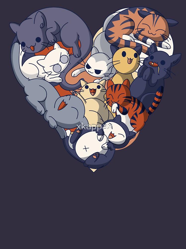 Cat Heart by xkappax