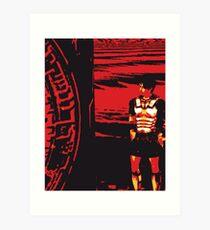 The last centurion Art Print