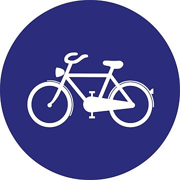 Cycle Lane Sign by aeilos