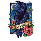 Nevermore Raven and Scroll  by lornalaine