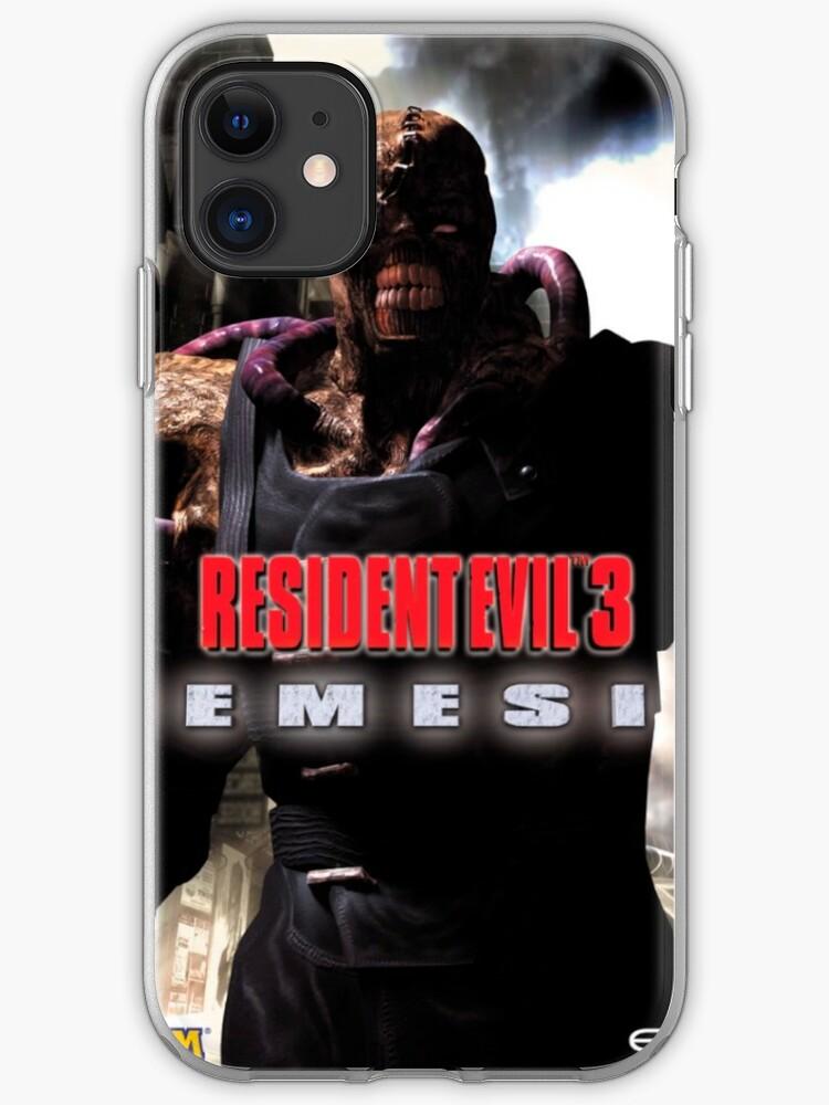 Nemesis Resident Evil 3 Nemesis 1999 Cover Art Iphone Case