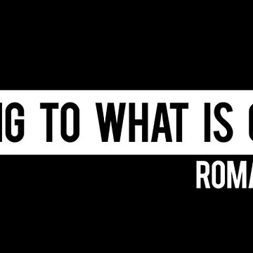 Cling To What Is Good Roman 12:9 by Lightfield