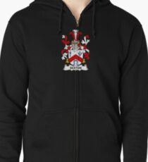 Sexton Coat of Arms - Family Crest Shirt Zipped Hoodie