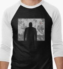 Devil in a snowstorm Men's Baseball ¾ T-Shirt