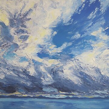 Dusk at Sea, Harlech by RachaelG
