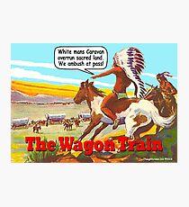 The Wagon Train Photographic Print