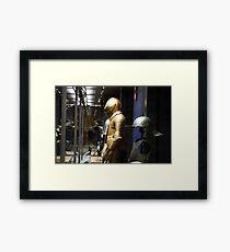 A King's Armour Framed Print
