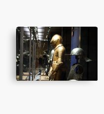 A King's Armour Canvas Print