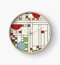 Frank lloyd wright S02 Clock