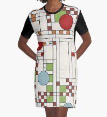 Frank lloyd wright S02 Graphic T-Shirt Dress