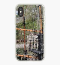 Ropes, Masts And Rigging iPhone Case