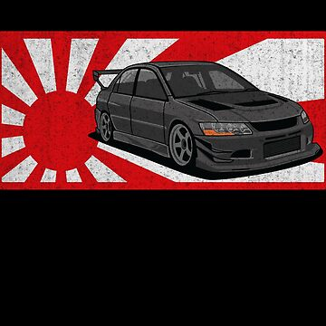 Rising Sun Flag Japan Japanese JDM Mitsubishi Evo Car Gift by maindeals