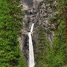 lower yosemite falls by Bruce  Dickson