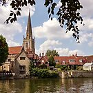 River Thames - Abingdon by ScenicViewPics