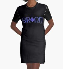 Eyes of Orion Graphic T-Shirt Dress