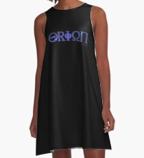 Eyes of Orion A-Line Dress