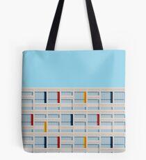 Le Corbusier Facade S03-2 Tote Bag