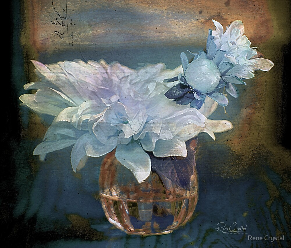 Sunday's Painted Flowers by Rene Crystal