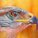 Colorful Eagle by TerryIKON