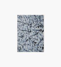 Pixels #1 artic blue Art Board