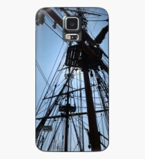 Rigging Of A Wooden Ship Case/Skin for Samsung Galaxy