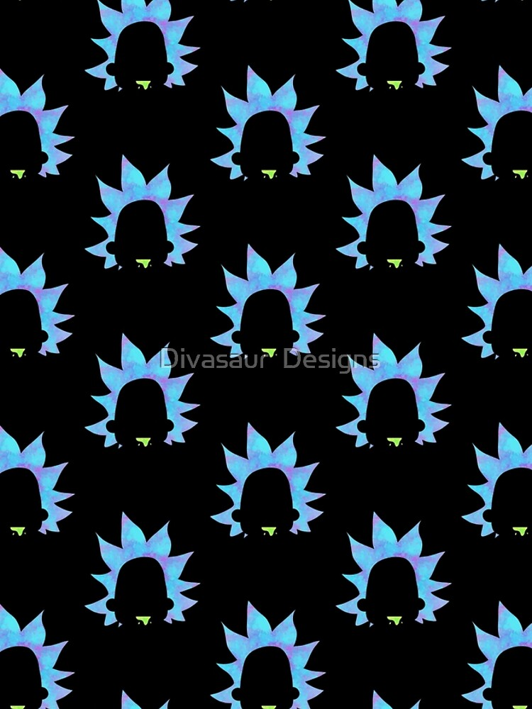 Rick Sanchez silhouette  by DivasaurDesigns