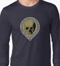 Motorcycle Skull Long Sleeve T-Shirt
