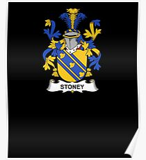 Stoney Coat of Arms - Family Crest Shirt Poster