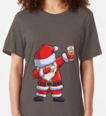 EMU Export Dabbing Santa Slim Fit T-Shirt